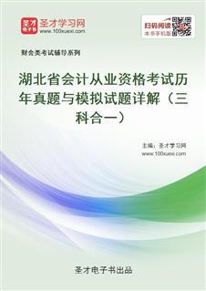 湖北省会计从业资格考试历年真题与模拟试题详解(三科合一)