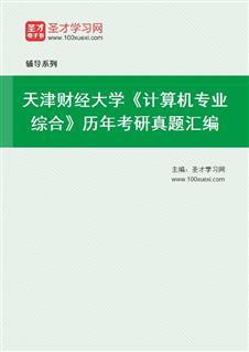 天津财经大学《计算机专业综合》历年考研真题汇编