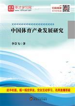 中国体育产业发展研究